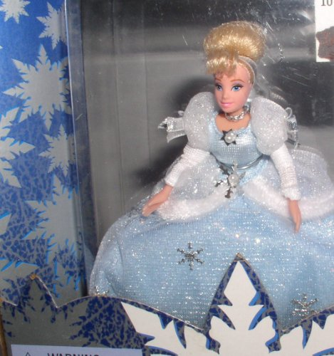 Walt Princess Disney (1998 Petite Holiday Princess, Walt Disney's Cinderella, Disney Holiday Collection by)