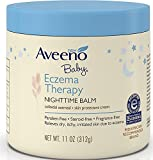 AVEENO Baby Eczema Therapy Nighttime Balm 11 oz (9 Pack)