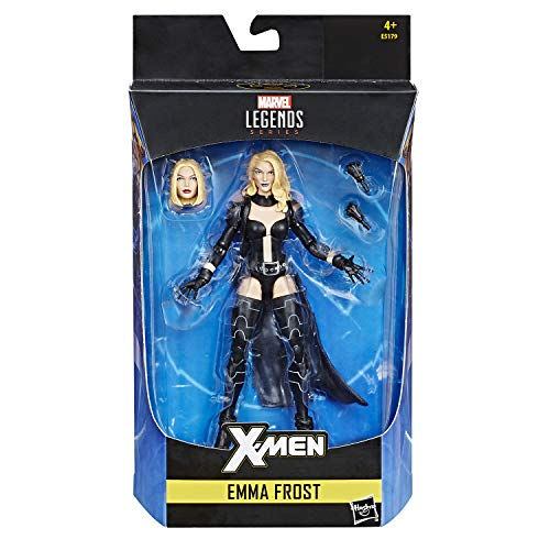 Marvel Legends Infinite 6 Inch Action Figure Exclusive - Emma Frost Black Outfit from Marvel