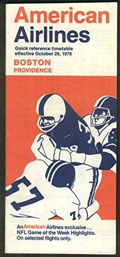 american-airlines-quick-reference-airline-timetable-boston-providence-10-29-1978