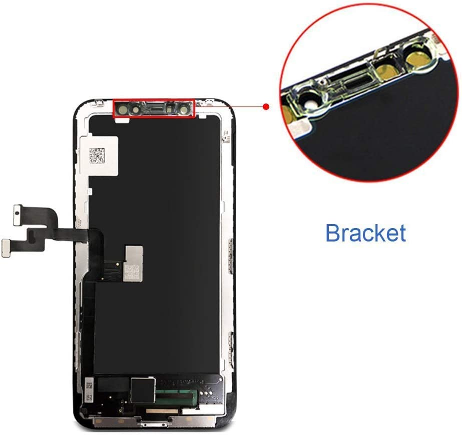 Mobkitfp for iPhone X Screen Replacement 5.8 inch LCD Display Digitier with 3D Touch /& Face ID for A1865//A1901//A1902 with Repair Tools+Waterproof Adhesive