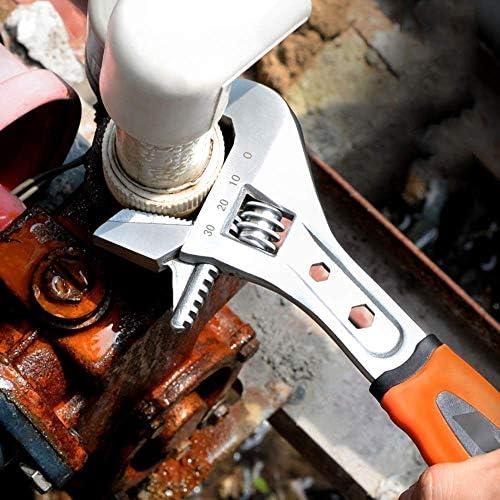 YUIOLIL Adjustable Wrench Steel Multi-Purpose Tool