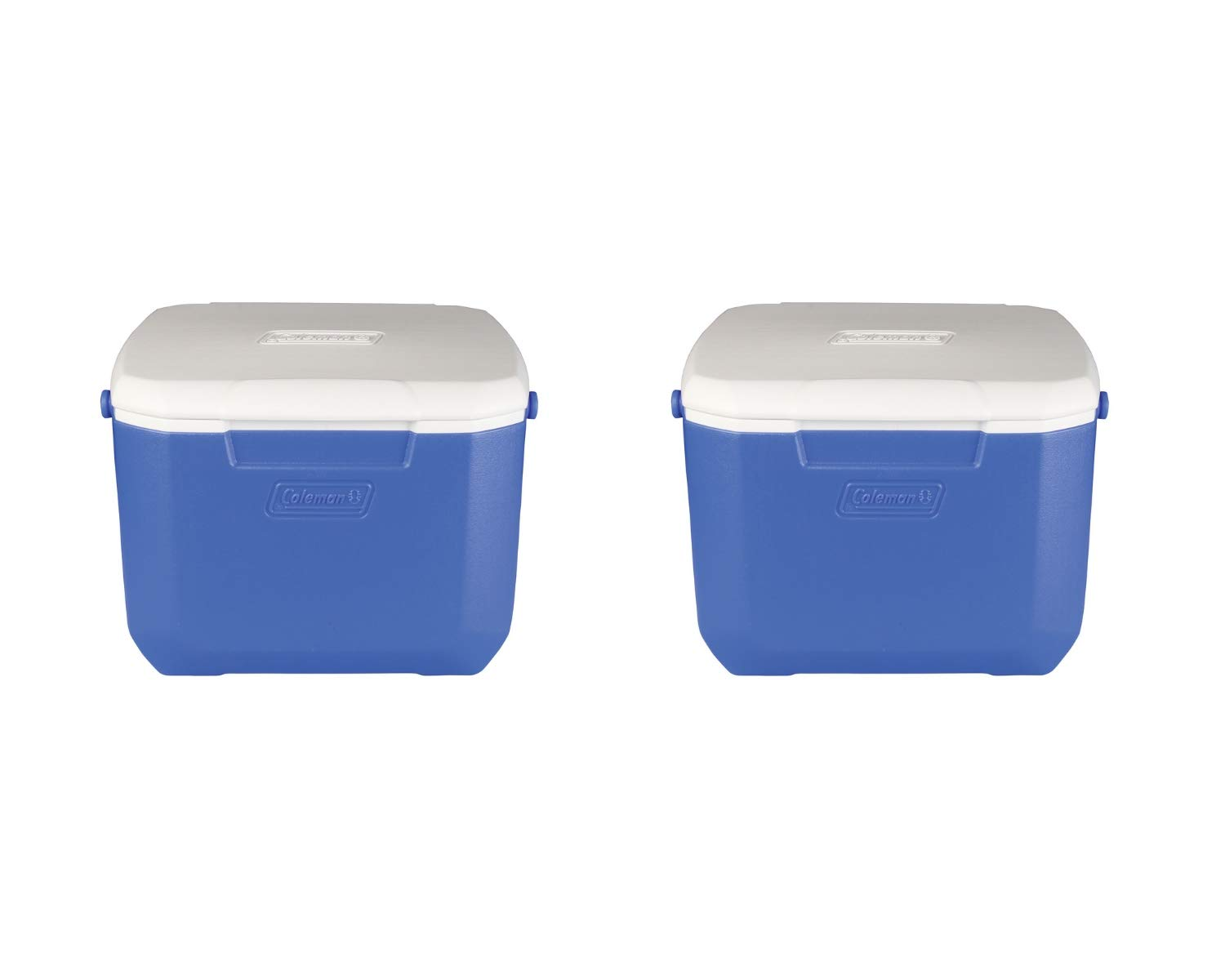 Coleman 3000001832 Cooler 16Qt Blue 00 5877 (2 Set, 16-Quart, Cooler, Blue)