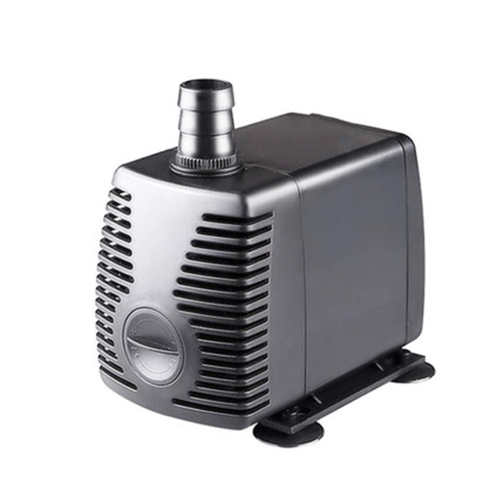 Black 22W Black 22W LIFUREN Fish Tank Oxygen Pump Submersible Pump Mini Small Pump Circulating Filter Pump Silent Filter Adjustable Flow (color   Black, Size   22W)