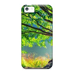 lintao diy New Style Mwaerke Beautiful Nature5 Premium Tpu Cover Case For Iphone 5c