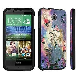 DuroCase ? HTC Desire 510 Hard Case Black - (Roses Angel)