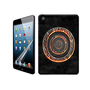Natalie Works Unique Design Abstract Carbon Baking TPU Hard Cases for iPad Mini Hot Sell Protective Case