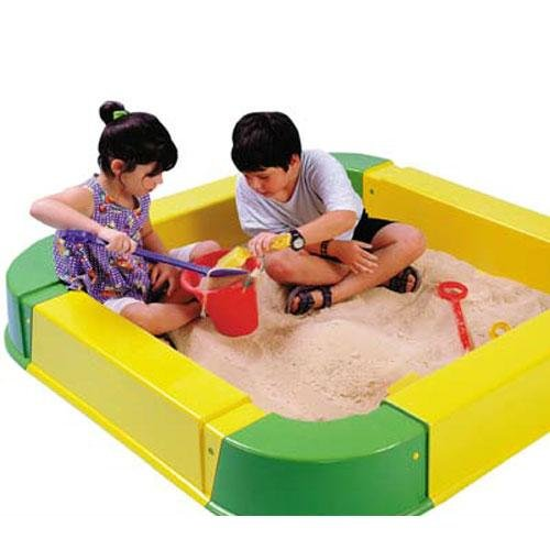 Kettler Home Playground Equipment: Sand Box Play Set with Waterproof Cover, Youth Ages 2+ by Kettler