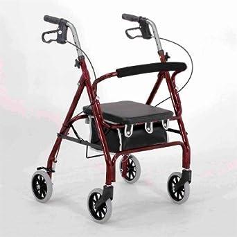 Amazon.com: Merits Productos de salud 4 ruedas Rollator ...