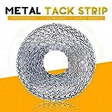 Rustark 65 ft Flexible Metal Tack Strip Three-Tooth