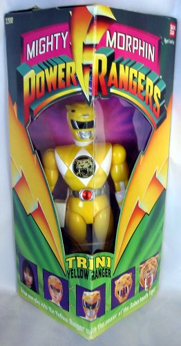 Original Mighty Morphin Power Rangers TRINI YELLOW RANGER 8