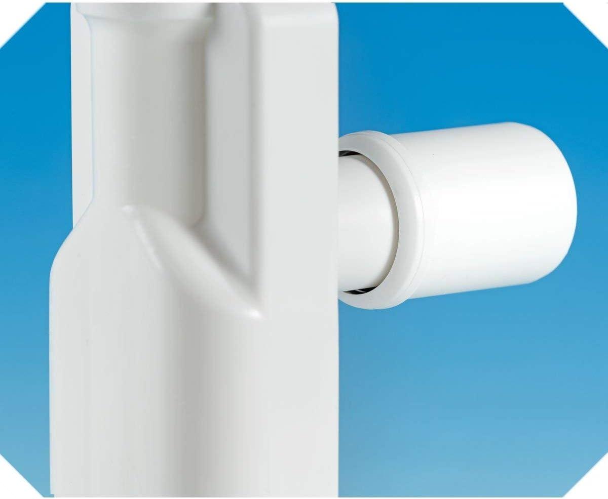 Lira Sifone salvaspazio ispezionabile per lavabo A.8274.01 unica Bianco