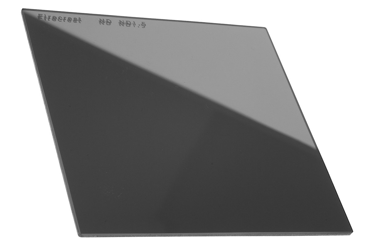 Firecrest ND 85x85mm (3.35''x3.35'') Neutral Density 1.5 (5 Stops) filter for 85mm Modular Holder, Cokin P Series