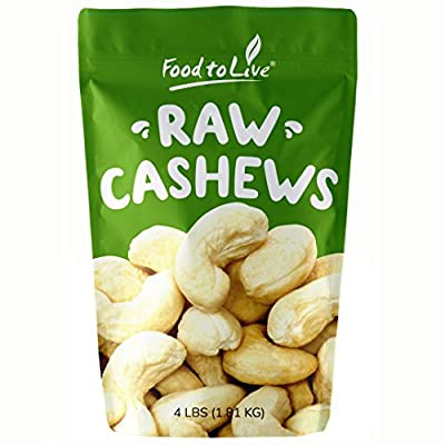 Organic and Conventional Cashews (Size W-320)