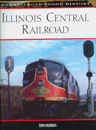 illinois central railroad books - 3