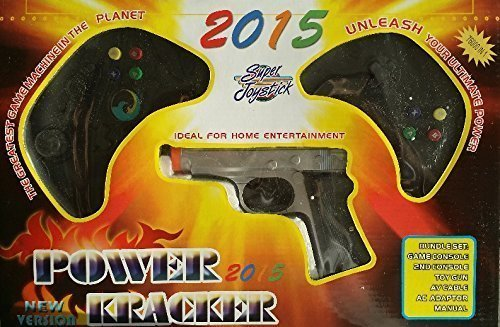 Power Player Kracker 2015 Super Joystick Plug and Play Video Game System