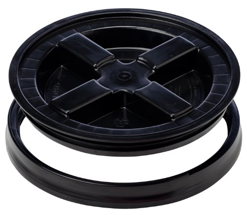Gamma Seal Lid - Black (Lid Black Bucket)
