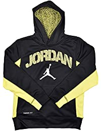 Big Boys (8-20) Therma-Fit Ele Jumpman Hoodie-Black/