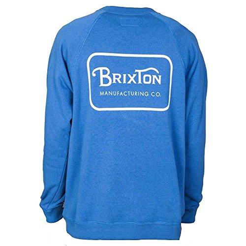 Sudadera Sudadera Azul Brixton Para Sudadera Azul Hombre Azul Para Para Brixton Brixton Hombre Hombre 8AxOqvS