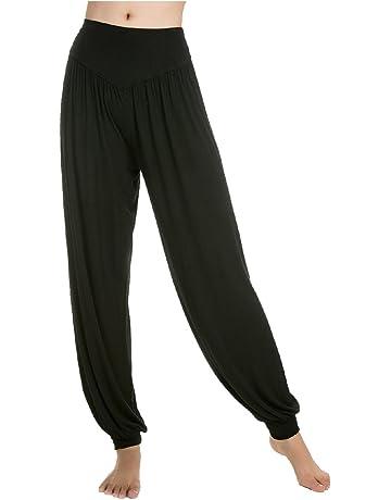 Pantalons De Yoga Et Pilates Femme Amazon Fr