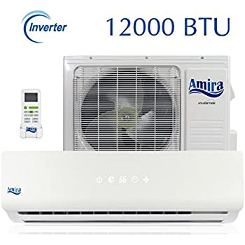 Amazon Com 12000 Btu Mini Split Air Conditioner 1 Ton