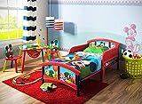 Delta Children Plastic Toddler Bed, Disney Mickey