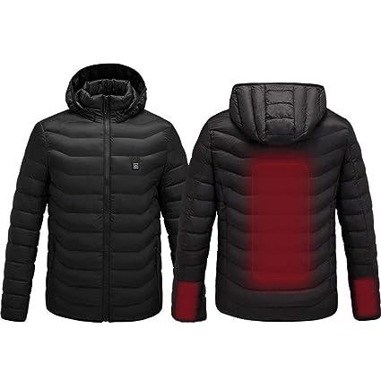 roroz Winterjacke Beheizbare Jacke Herren Damen, Schnelle