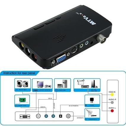 Amazon.com: Mini LCD TV Box Digital Computer VGA AV TV Programs