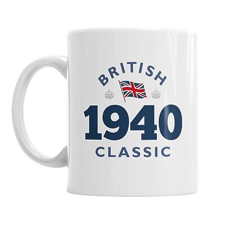 80th cumpleaños, 80th con texto, British Classic, 80th ...