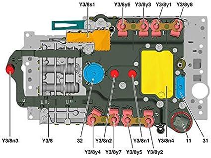 Set of Module Sensor Auto Transmission Gear Box TCU Control Module Sensor 722.9 Y3//8N1 Y3//8N2 Fit for Mercedes Benz 7G