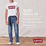 Levi's Boys' Big 505 Regular Fit-Jeans, Cash, 12