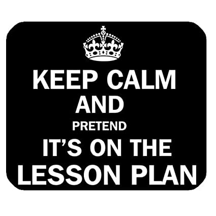 Amazon.com : Funny Quotes & Saying Mouse Pad, Keep Calm and ...