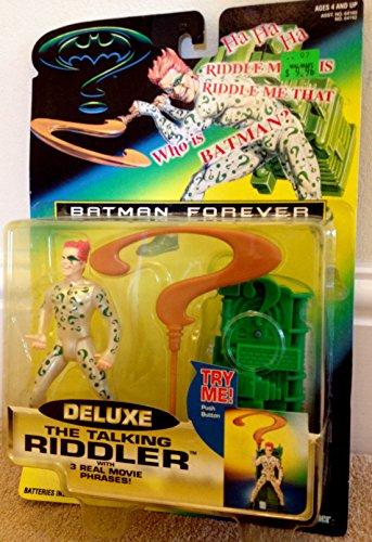 (Batman Forever Deluxe The Talking Riddler Action Figure)