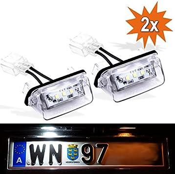 Do Led P206 Led Kennzeichenbeleuchtung Mit E Prüfzeichen Xenon Optik Auto