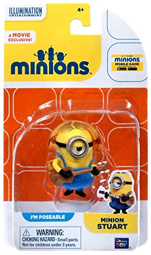 Despicable Me Minions Movie Minion Stuart 2
