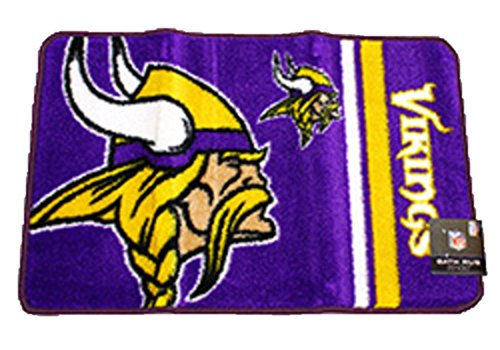 Minnesota Vikings Bath Rug Door Mat NFL Licensed 20