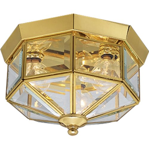 Outdoor Lighting Antique Brass Finish