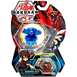 Bakugan, Vicerox, 2-inch Tall Collectible Transforming Creature, for Ages 6 and Up