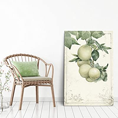Vintage Style Fruits on Tree Branch 24