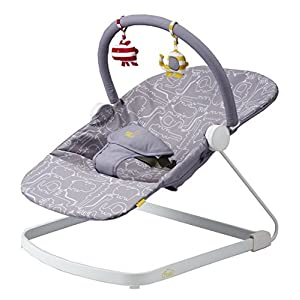 Bababing Float Baby Bouncer Grey