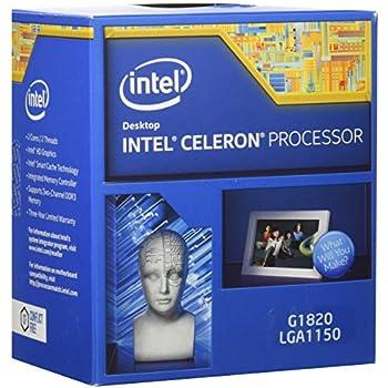 Intel Celeron G1820 Processor 2.7GHz 5.0GT/s 2MB LGA 1150 CPU BX80646G1820