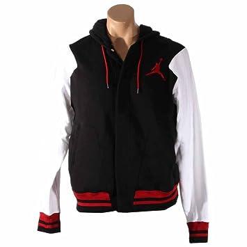 Nike Jordan Varsity Hoody - Sudadera Chaqueta, Hombre, Pullover Jordan Varsity Hoody Jacke, Negro, XL: Amazon.es: Deportes y aire libre