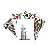 Burj al-Arab luxury hotel Dubai Poker Playing Card Tabletop Board Game Gift
