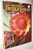 Trees and Shrubs, , 0917304845