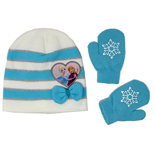 Accessory Supply Kids Beanie Hats and Gloves Set For Boys and Girls