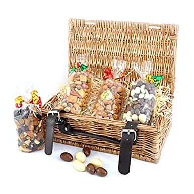 The Nut Hut Dried Fruit & Nut Gift Hamper: Amazon co uk: Grocery