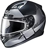 HJC XF-10-1151-2535-10 CL-17 Boost Snow Helmet with Dual Lens Shield, Gender: Mens/Unisex, Helmet Type: Full-face Helmets, Helmet Category: Snow, Distinct Name: MC-5SF, Primary Color: Silver, Size: 4X