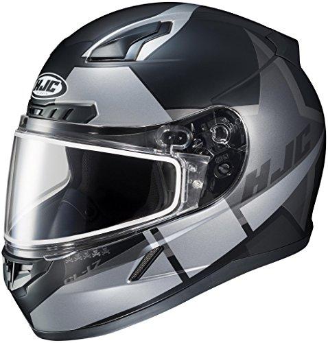(HJC CL-17 Boost Snowmobile Helmet with Dual Lens Shield (MC-5SF, X-Large) XF-10-1151-2535-07)