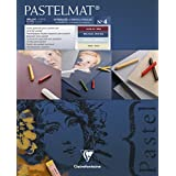 Clairefontaine Pastelmat Pad Light and Dark Shades 360g 24x30cm, 12 Sheets