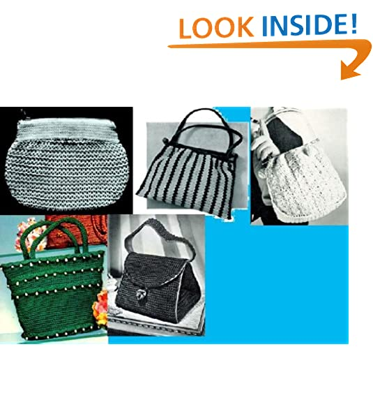 Crochet Bag Patterns Amazon